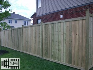 pressure Treated Fence Ottawa