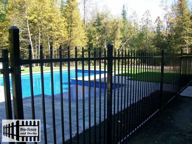 Ornamental Iron ARISTOCRAT (MEDALLION FENCE) Iron Fence Ottawa,