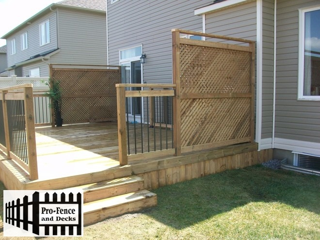 Micro Pro SIENNA Treated Wood Decks ottawa,