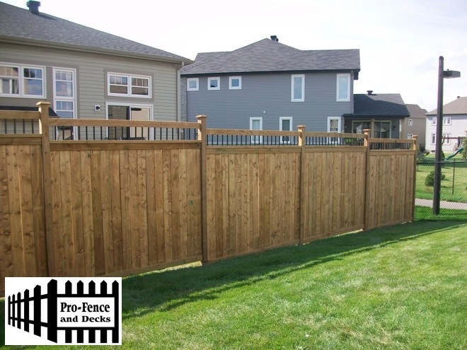 Pressure Treated Fence Ottawa,